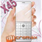 Micromax-x45