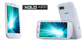 Xolo A800 Photo