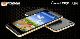 Micromax Canvas Fire A104 Photo