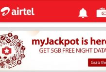 Airtel Jackpot Data Offer