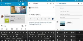 BlackBerry Priv Keyboard App