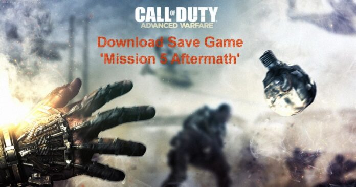Call of Duty Advanced Warfare Chapter 5 Save Game