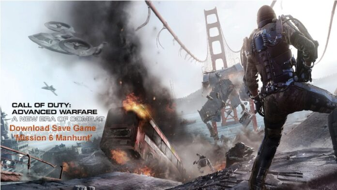 Call of Duty Advanced Warfare Chapter 6 Save Game