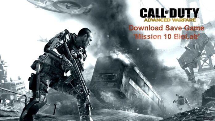 Call of Duty Advanced Warfare Mission 10 Save Game
