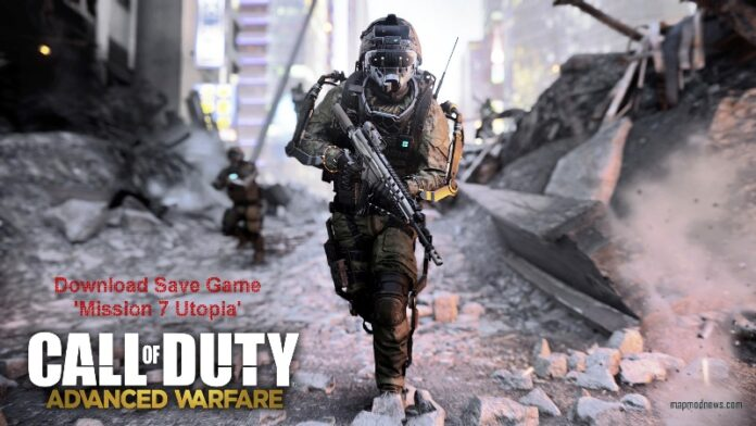 Call of Duty Advanced Warfare Mission 7 Save Game