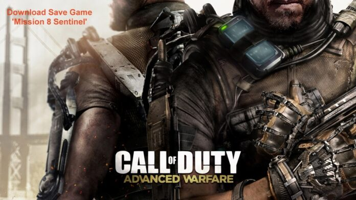 Call of Duty Advanced Warfare Mission 8 Save Game