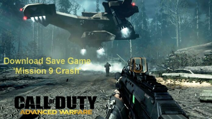 Call of Duty Advanced Warfare Mission 9 Save Game