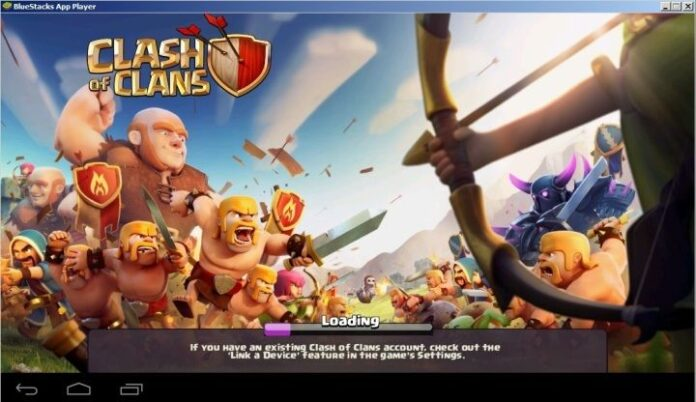 Clash of Clans on BlueStacks