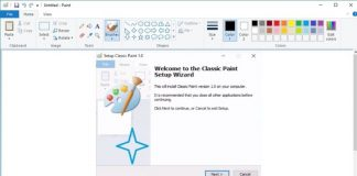 Classic Paint for Windows 10