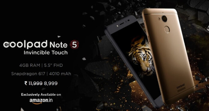 Coolpad Note 5 Phone