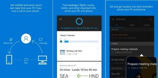 Cortana Android iOS
