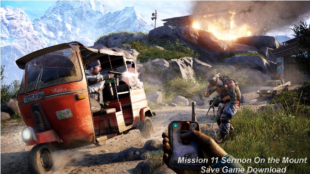 Far Cry 4 Mission 11 Saves