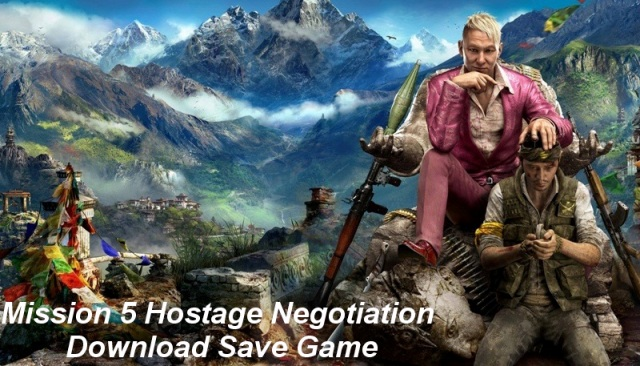 Far Cry 4 Mission 5 Save