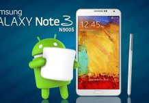 Galaxy Note 3 Marshmallow ROM