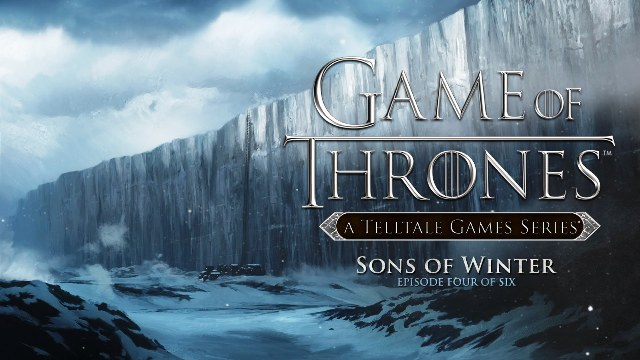Game of Thrones Sons of Winter