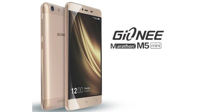 Gionee Marathon M5 mini Photo