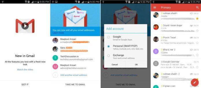 Gmail 5 APK