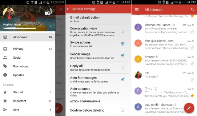 Gmail All Inboxes
