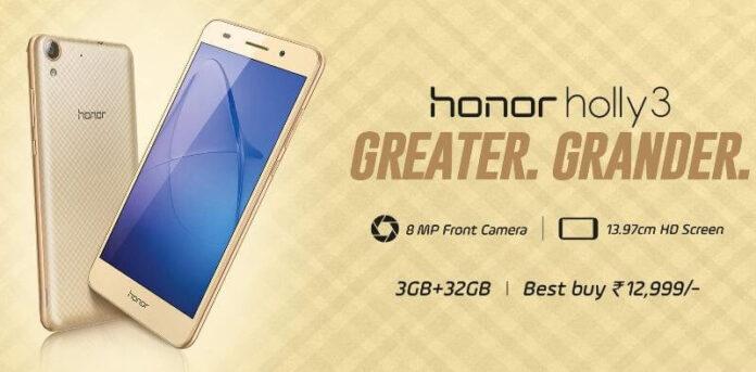 Honor Holly 3 Photo