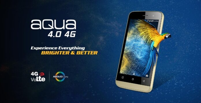 Intex Aqua 4.0 Photo