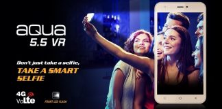 Intex Aqua 5.5 VR Phone