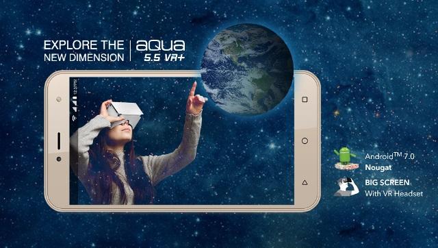 Intex Aqua 5.5 VR+ Photo