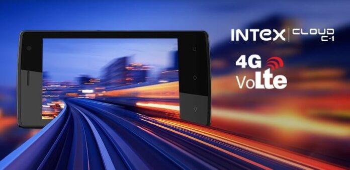 Intex Cloud C1 4G Photo