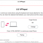 LG VPInput App