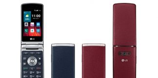 LG Wine Smart Flip Phone