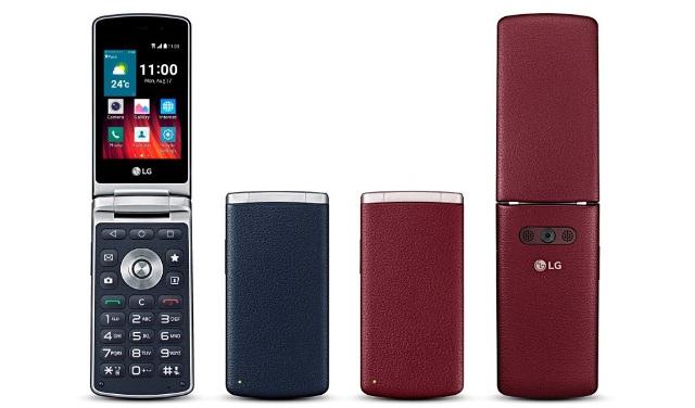 LG Wine Smart Flip Phone