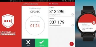 LastPass Authenticator compressor