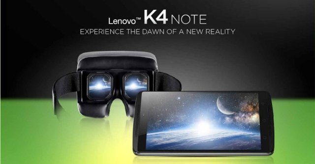 Lenovo K4 Note VR Bundle