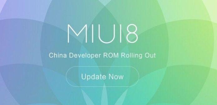 MIUI 8 Developer ROM