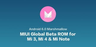MIUI Global Beta ROM Marshmallow