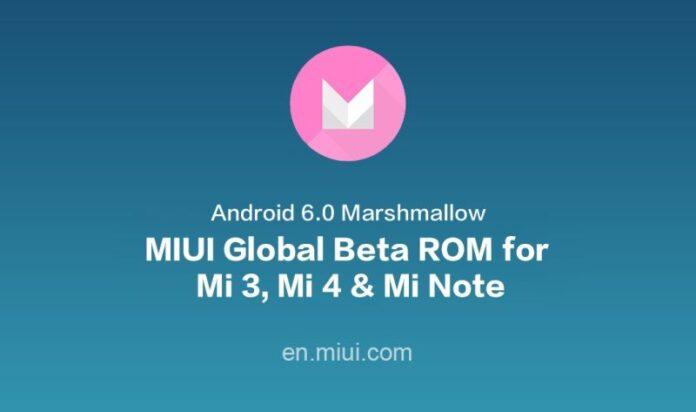 MIUI Global Beta ROM Marshmallow