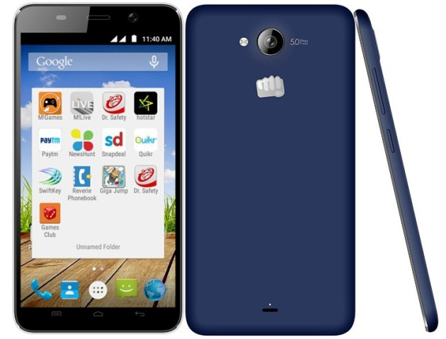 Micromax Canvas Play Q355 Photo