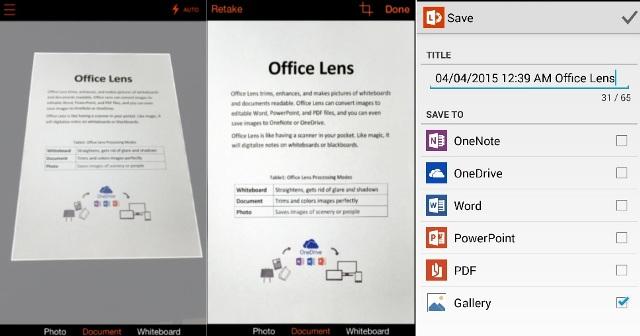 Microsoft Office Lens apk