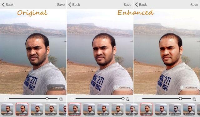 Microsoft Selfie App