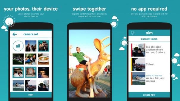 Microsoft Xim photo sharing app