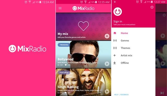 MixRadio India APK