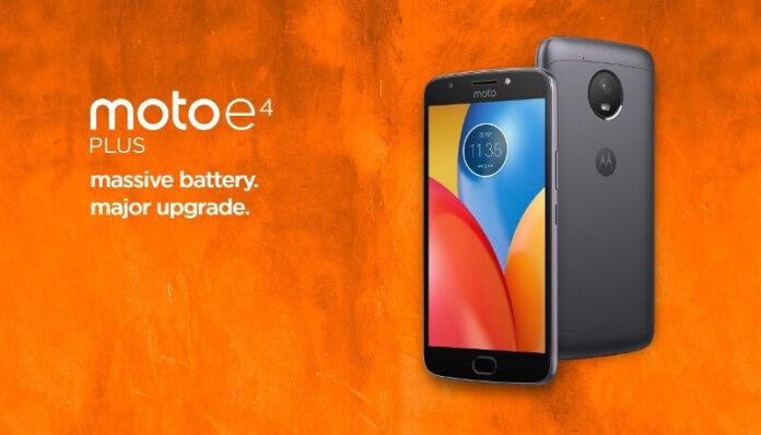 Moto E4 Plus Photo
