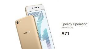 OPPO A71 Photo