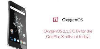 OxygenOS 2.1.3 for OnePlus X