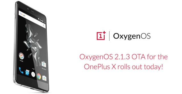 OxygenOS 2.1.3 for OnePlus X