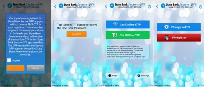 SBI OTP App