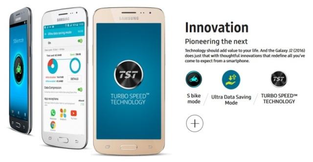 Samsung Galaxy J2 (2016) TST