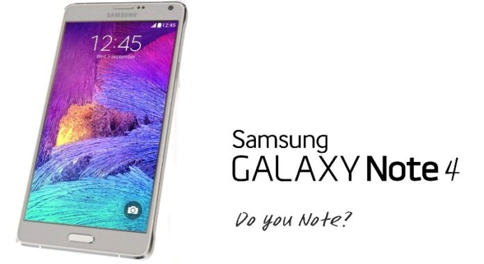 Samsung Galaxy Note 4 Photo