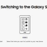 Samsung Smart Switch Steps