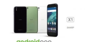 Sharp X1 Android One Phone