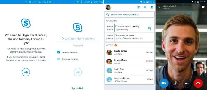 Skype for Business apk